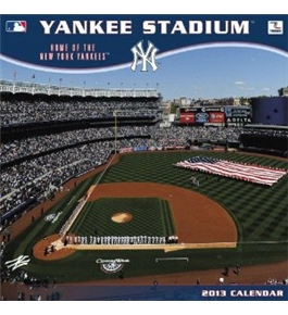 Perfect Timing - Turner 12 X 12 Inches 2013 New York Yankees Yankee Stad Wall Calendar (8011338)