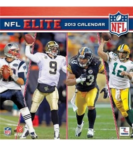 Perfect Timing - Turner 12 X 12 Inches 2013 NFL Elite Wall Calendar (8011344)