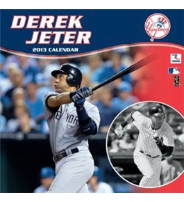 Perfect Timing - Turner 12 X 12 Inches 2013 Ny Yankees Derek Jeter Wall Calendar (8011154)