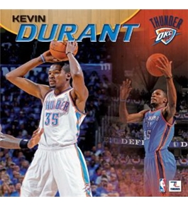 Perfect Timing - Turner 12 X 12 Inches 2013 Oklahoma City Thunder Kevin Durant Wall Calendar (8011349)