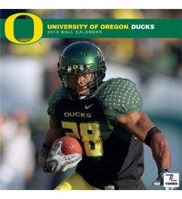 Perfect Timing - Turner 12 X 12 Inches 2013 Oregon Ducks Wall Calendar (8011206)