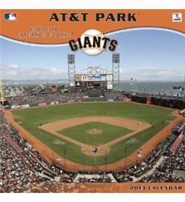 Perfect Timing - Turner 12 X 12 Inches 2013 San Francisco Giants Att Park Wall Calendar (8011340)