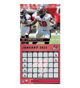 Perfect Timing - Turner 12 X 12 Inches 2013 Tampa Bay Buccaneers Wall Calendar (8011297)