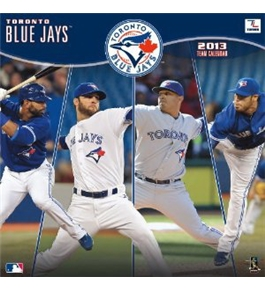 Perfect Timing - Turner 12 X 12 Inches 2013 Toronto Blue Jays Wall Calendar (8011236)