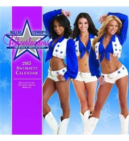 Perfect Timing - Turner 15 X 15 Inches 2013 Dallas Cowboy Cheerleaders Wall Calendar (8030008)