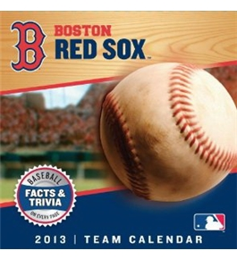 Perfect Timing - Turner 2013 Boston Red Sox Box Calendar (8051033)