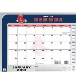 Perfect Timing - Turner 2013 Boston Red Sox Desk Calendar, 22 x 17 Inches (8061172)