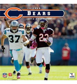Perfect Timing - Turner 2013 Chicago Bears Mini Wall Calendar (8040325)