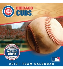 Perfect Timing - Turner 2013 Chicago Cubs Box Calendar (8051034)