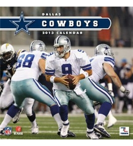 Perfect Timing - Turner 2013 Dallas Cowboys Mini Wall Calendar (8040328)