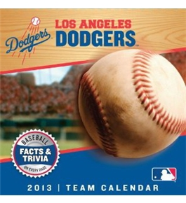 Perfect Timing - Turner 2013 Los Angeles Dodgers Box Calendar (8051043)