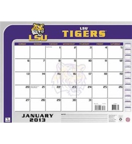 Perfect Timing - Turner 2013 LSU Tigers Desk Calendar, 22 x 17 Inches (8061157)