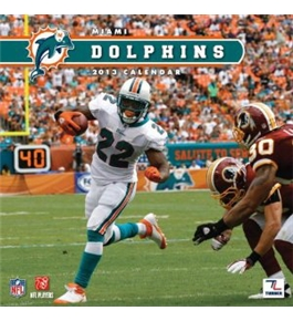 Perfect Timing - Turner 2013 Miami Dolphins Mini Wall Calendar (8040336)