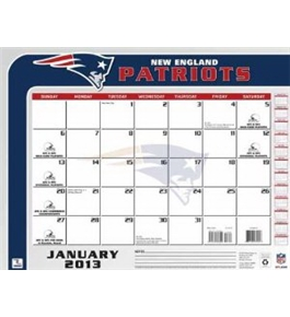 Perfect Timing - Turner 2013 New England Patriots Desk Calendar, 22 x 17 Inches (8061247)