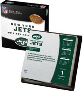 Perfect Timing - Turner 2013 New York Jets Box Calendar (8051113)
