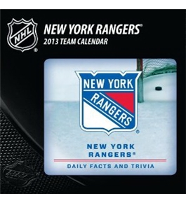 Perfect Timing - Turner 2013 New York Rangers Box Calendar (8051142)