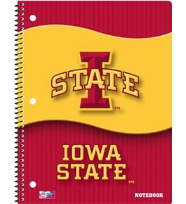 Perfect Timing Turner Iowa State Cyclones Notebook, Pack of 2 (8091283)