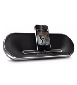 Philips Fidelio DS7550 2.0 Speaker System - 10 W RMS - Aluminum. PORTABLE SPEAKERDOCK FOR IPHONE /IPOD
