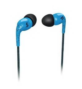 Philips O'Neill SHO9552/28 Sound-Isolating In-Ear Headphones (Royal Specked Blue)