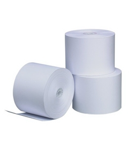 PM Company Perfection POS Black Image Thermal Rolls, 3.125 Inches x 119 Feet, White, 50 per Carton (05210)