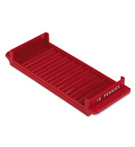 PMC05037 Plastic Interlocking Tray for Rolled Coin Storage