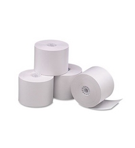 PMC05212 Single-Ply Thermal Cash Register/Pos Rolls, 2-1/4 Inch x 165 Feet