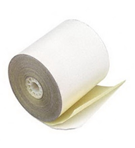 PMC09225 Two-Ply Self Contained Rolls for Verifone Tranas 420/460
