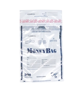 PMC58002 SecurIT Tamper Evident Plastic Disposable Deposit Bags