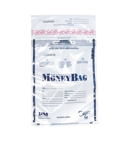 PMC58004 SecurIT Tamper Evident Plastic Disposable Deposit Bags