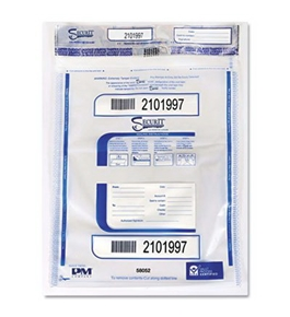 PMC58052 Triple Layer Fracture Adhesive Protection Disposable Money Bags