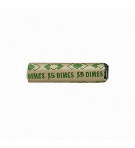 PMC65071 Shotgun Shell Coin Cartridges for Dimes $5 - Green
