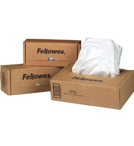Fellowes 36052 Powershred Waste Bags for Personal Shredder