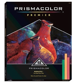 Prismacolor Nupastel Set, 48 Colored Pastels(27051)