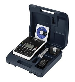 "Brother PT-2730VP PC-Connectable ""Simply Professional"" Labeling System with Carry Case"
