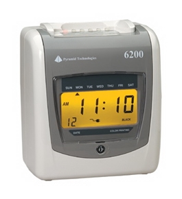 Pyramid Technologies 6200 - Payroll Time Recorder