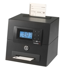 5000HD Heavy Duty Auto-Totaling Clock