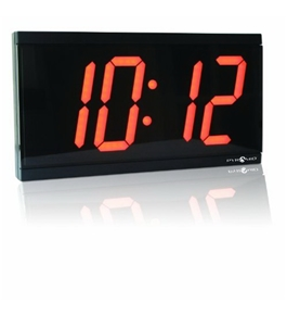Pyramid 4-Inch 4 Digit Red LED Wireless Digital Clocks (9D44BR)