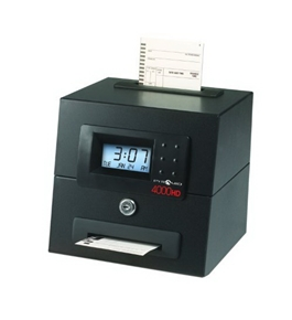 Pyramid 4000 Auto-Totaling Time Clock