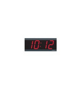 "Pyramid Technologies Black 4"" Digital Wall Clock"