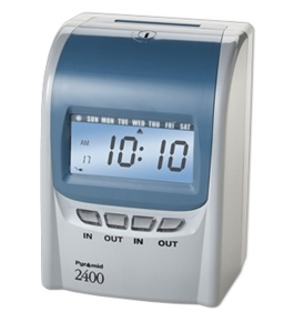 Pyramid Technologies 2400 Top Loading 4 - Column Time Recorder