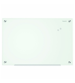 Quartet Infinity Glass Magnetic Marker Board, 3 x 2 Feet, White Surface, Frameless