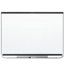 Quartet Prestige 2 Total Erase Magnetic Whiteboard, 3 x 2 Feet, Black Aluminum Frame