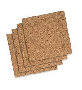 "Quartet : Cork Roll, 24""x48"", Natural - Sold as 2 Packs of - 1 Total of 2 Each"