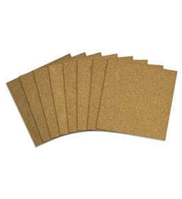 Quartet Cork Tiles, 12 x 12 Inches, Brown, 80/Pack (108)