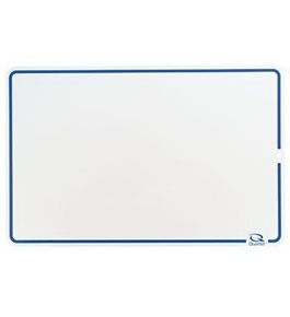 Quartet Education Dry Erase Lap Board with ComforTech Marker, 18 x 12 Inches (B12-9001002A)