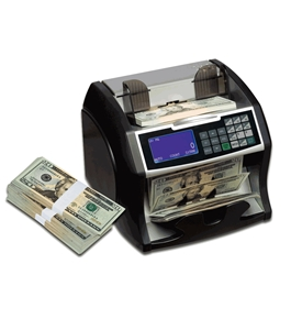 RBC4500 Electric Bill Counter with Value Counting and Counterfeit Detection BONUS Standalone Counterfeit Detector