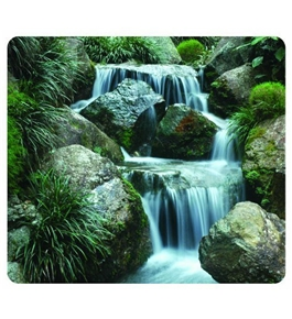 Recycled Optical Mousepad - Waterfall