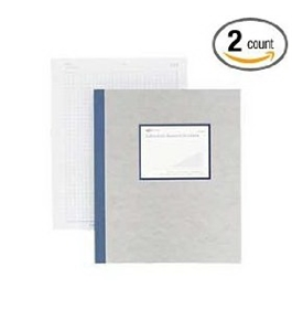 "Rediform Office Products : Lab Notebook, W/Carbon, 4x4 Quad, 200 Sheets, 8-1/2""x11"", Gray - Sold as 2 Packs of - 1 - / - Total of 2 Each"