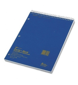 Rediform Porta-Desk Notebook, 8.5 x 11.5 Inches, 120 Sheets (31192)