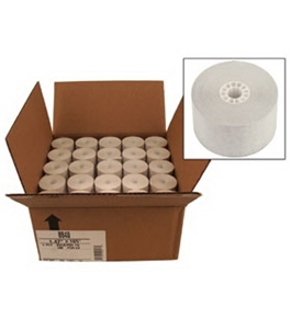 "2.25"" X 85' 24 Pack 2 Ply Paper Rolls"